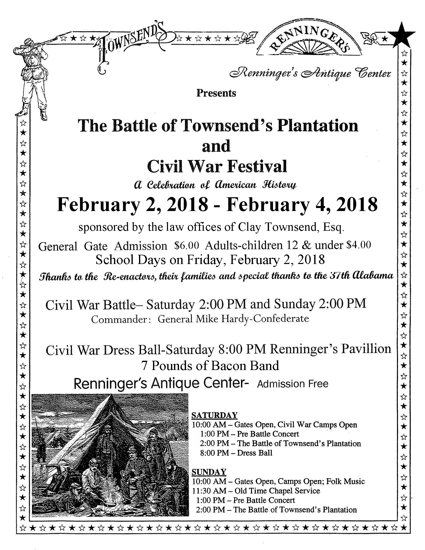 2018 Civil War Flyer Page 1