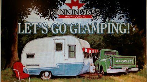glamping promo card