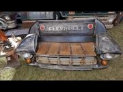 Extravaganza:  Repurposed Trucks into Furniture