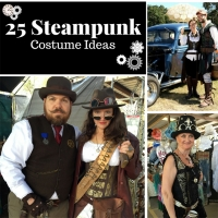 25 Steampunk Costume Ideas