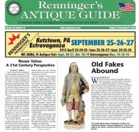 Read the August 27 issue of the Renninger's Antique Guide