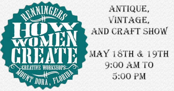 How Women Create: Creative Workshops (Mt. Dora, FL)