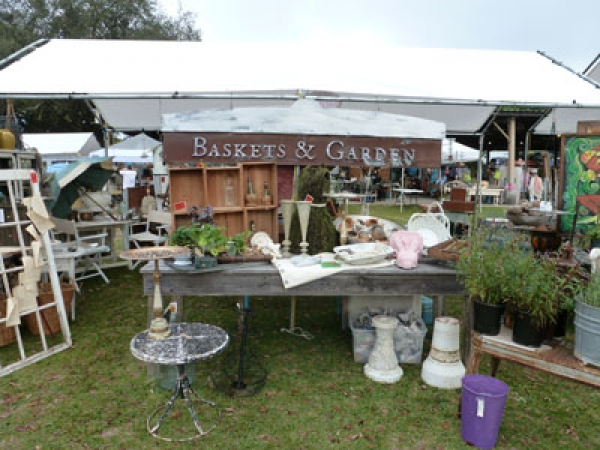 Vintage Garden Show in Mt. Dora, FL. April 4th and 5th.