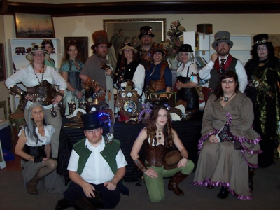 Steampunk Industrial Show at Mount Dora October 18 & 19