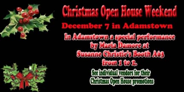 Christmas Open House Renningers Adamstown