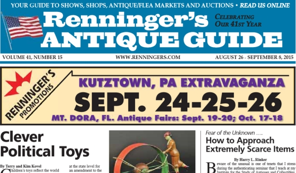 Read the August 26th Issue of Renninger's Guide