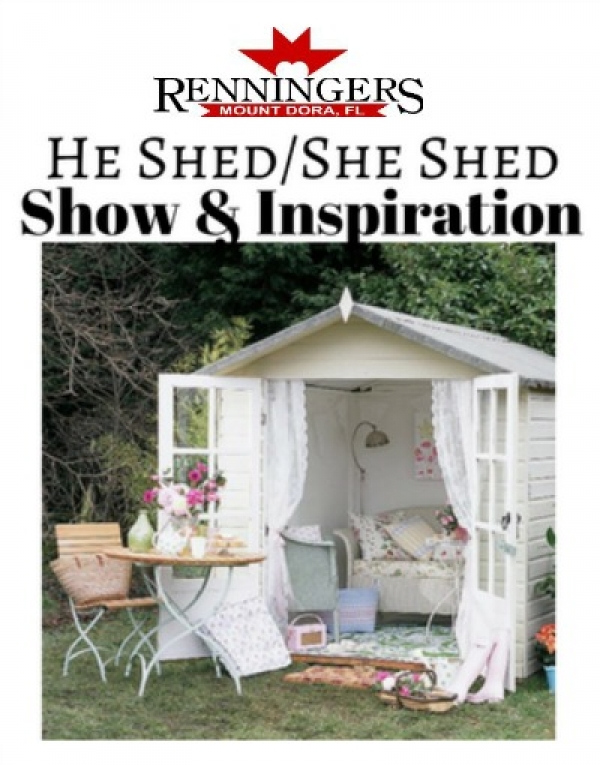 He Shed/She Shed Show & Inspiration