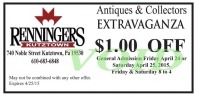 Discount Admission Coupon for Extravaganza