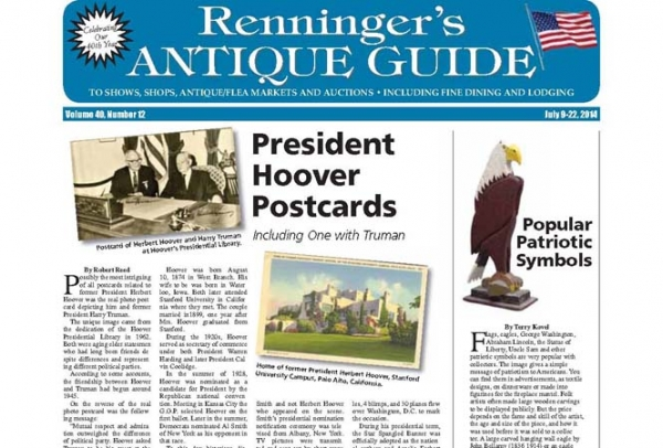 Latest issue of the Renninger's Antique Guide
