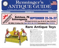 Read the September 10 issue of Renninger's Antique Guide