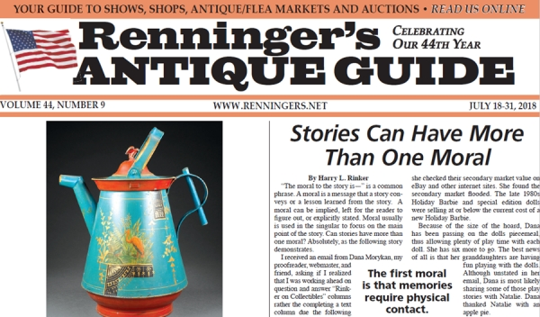 Read the July 18th Issue of Renninger's Guide