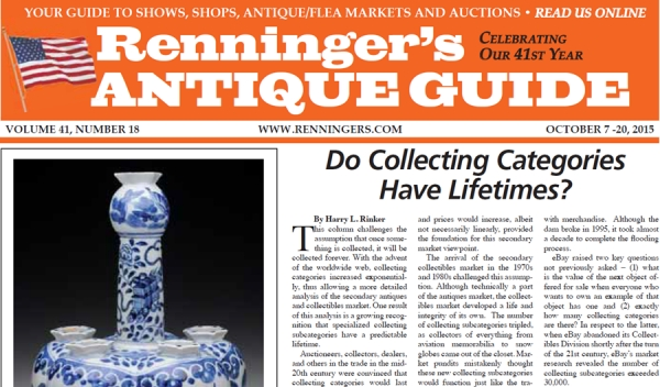 Read the October 7th Issue of Renninger's Guide