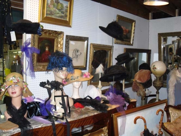 Suzanne Christie's Booth in Renninger's Antiques Market Adamstown