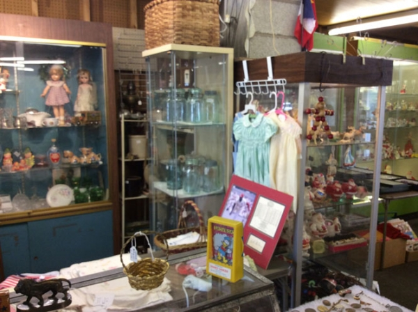 See Betty Burkhart— Renninger's Most Senior Antiques Dealer