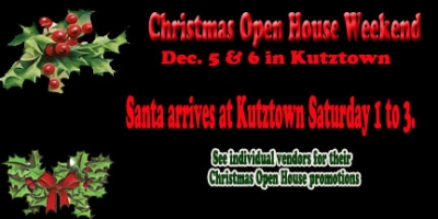 Market Christmas Open House Kutztown
