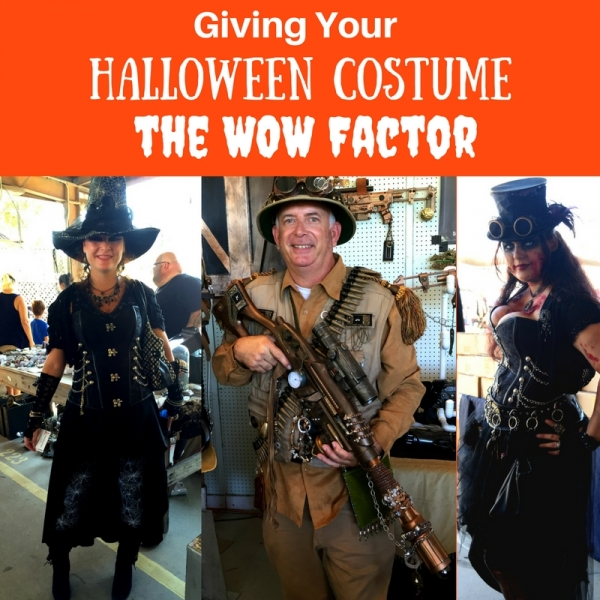 Giving Your Halloween Costume the WOW Factor