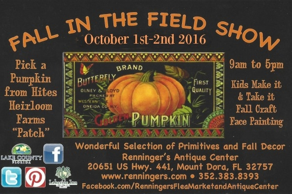 5th Annual Fall in the Field