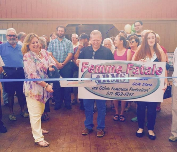 Ribbon Cutting at ​FEMME FATALE ARMS