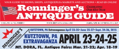 Renningers Antique Guide Newspaper