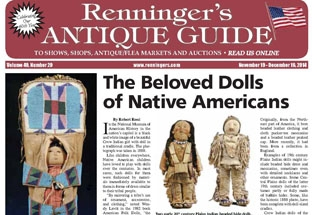 IRead the November issue of the Renninger's Antique Guide.