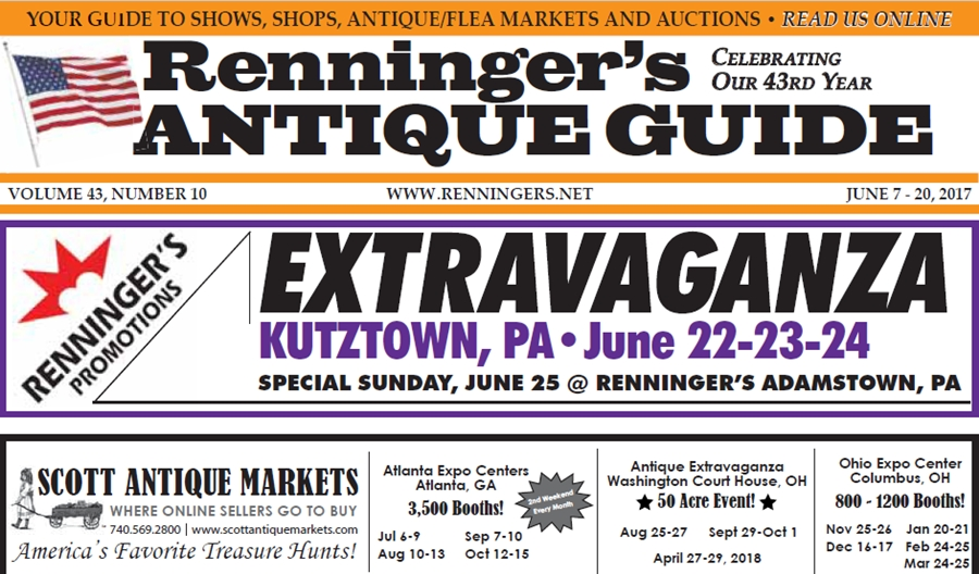 IRead the June 7th Issue of Renninger's Guide