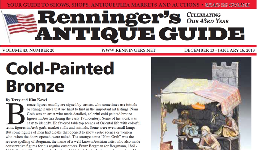 IRead the December 13th Issue of Renninger's Guide
