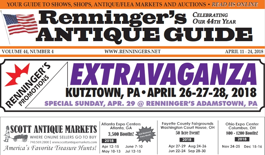 IRead the April 11th Issue of Renninger's Guide