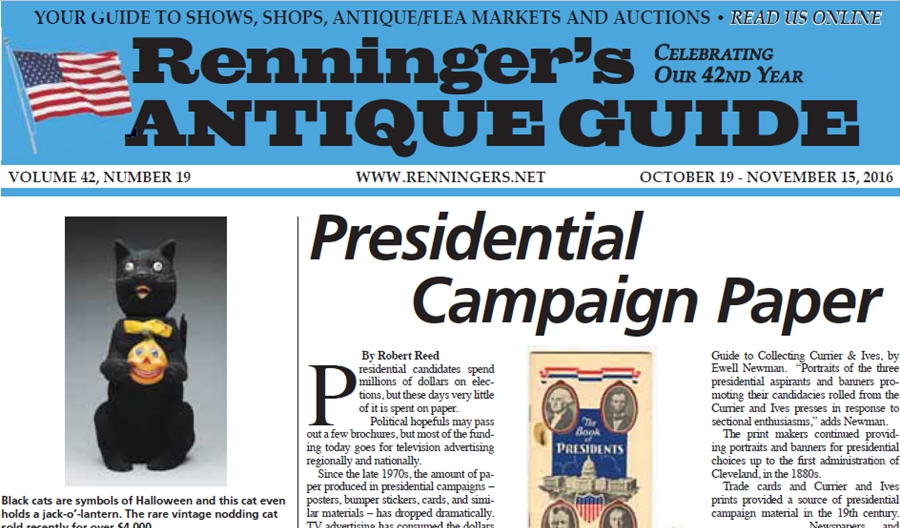 IRead the October 19th Issue of Renninger's Guide