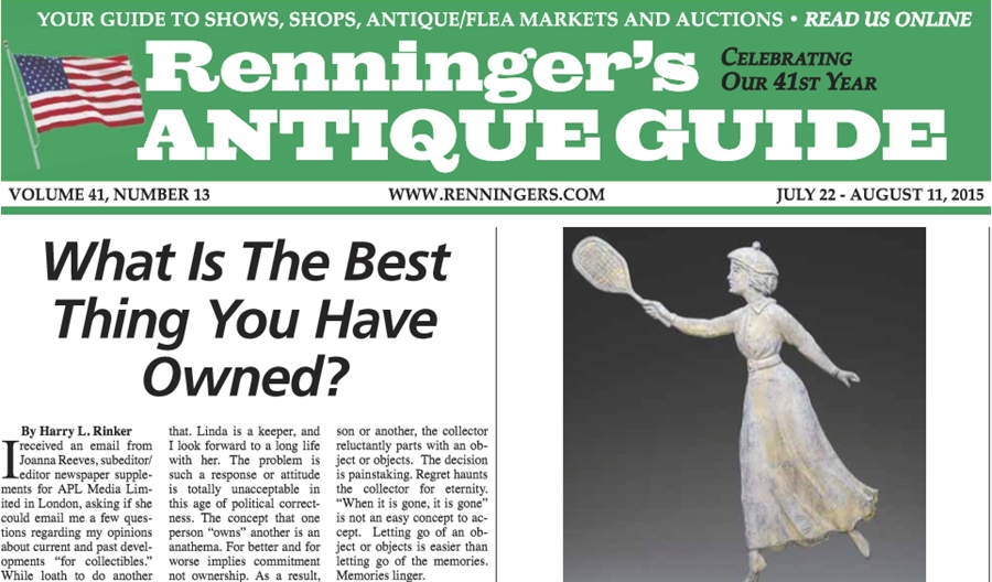 IRead the July 22nd Issue of Renninger's Guide