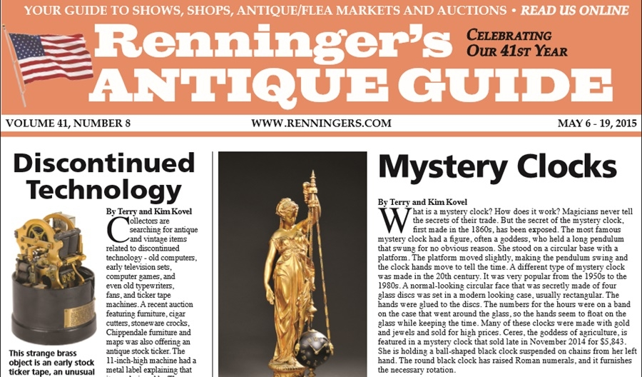 IRead the May 6th Issue of Renninger's Guide