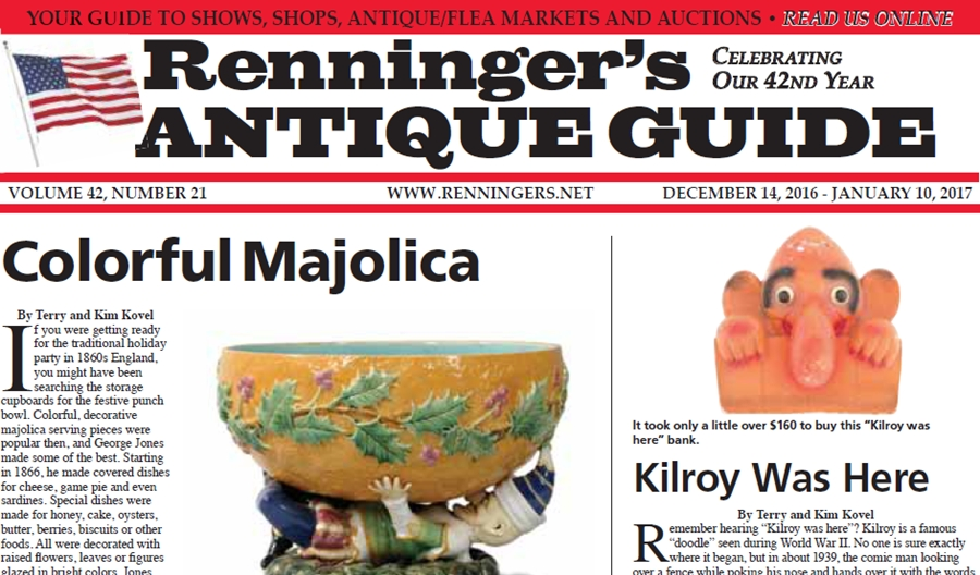 IRead the December 14th Issue of Renninger's Guide
