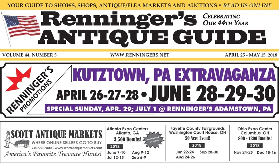 IRead the April 25th Issue of Renninger's Guide