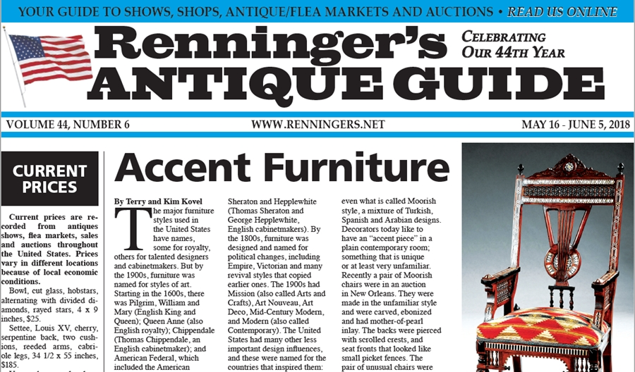 IRead the May 16th Issue of Renninger's Guide