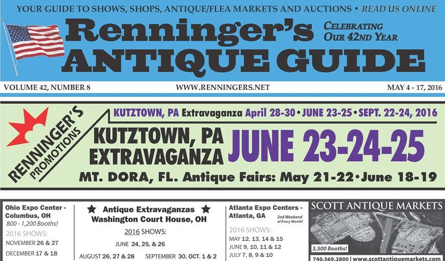 IRead the May 4th Issue of Renninger's Guide