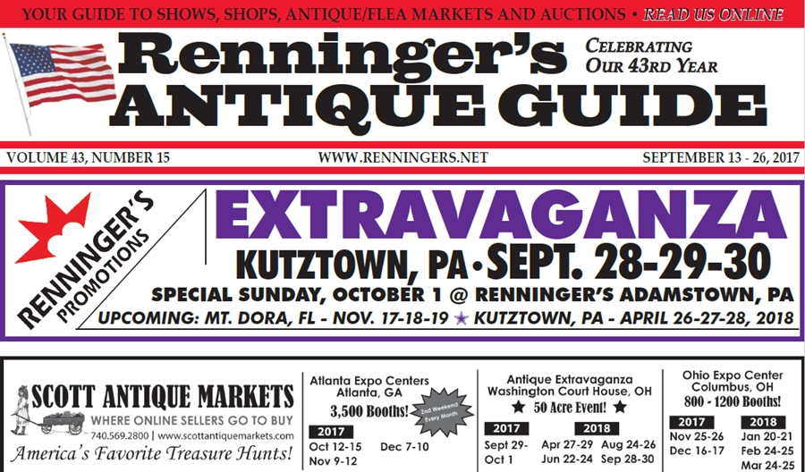 IRead the September 13th Issue of Renninger's Guide