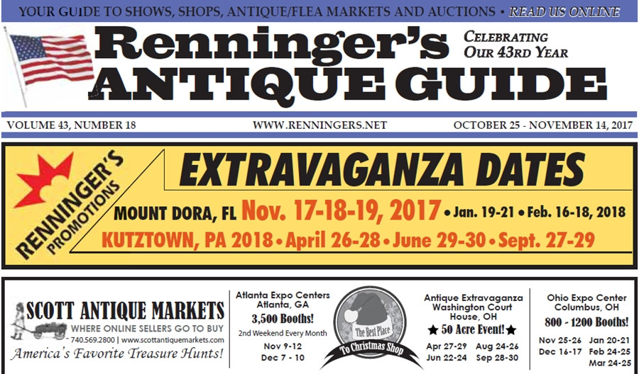 IRead the October 25th Issue of Renninger's Guide