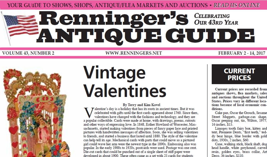 IRead the February 2nd Issue of Renninger's Guide