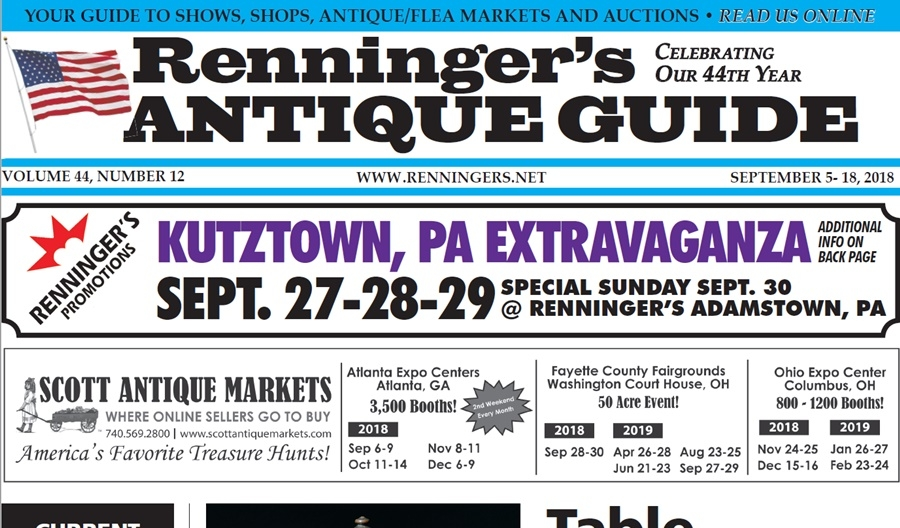 IRead the September 5th Issue of Renninger's Guide