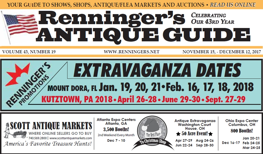 IRead the November 15th Issue of Renninger's Guide