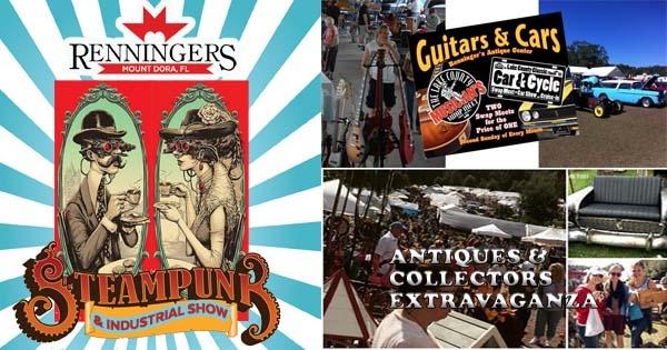 IJanuary Special Events for Renninger's Mount Dora, FL