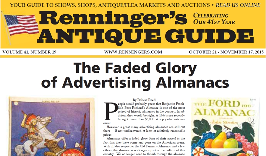 IRead the October 21st Issue of Renninger's Guide