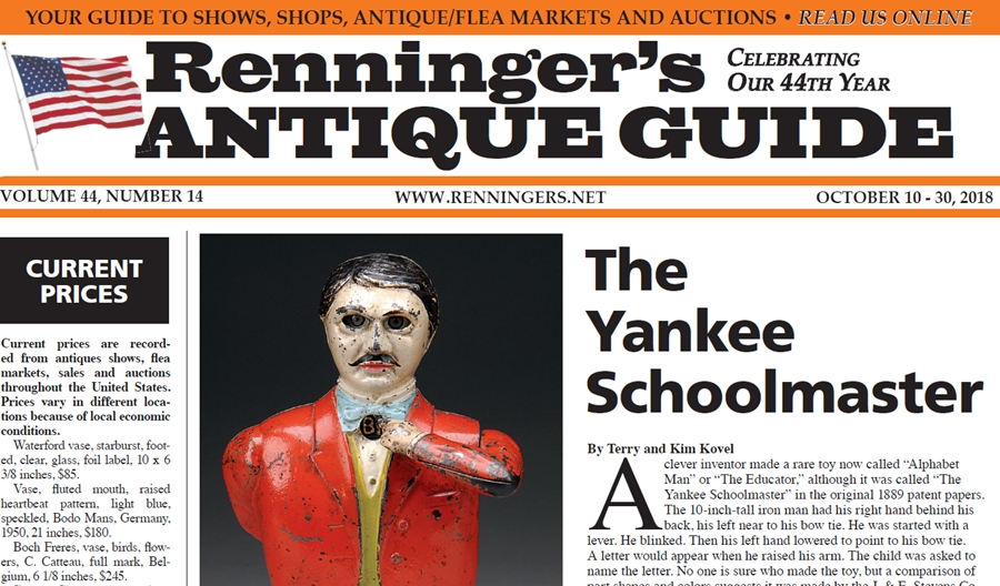 IRead the October 10th Issue of Renninger's Guide