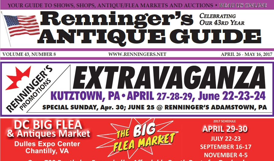 IRead the April 26th Issue of Renninger's Guide