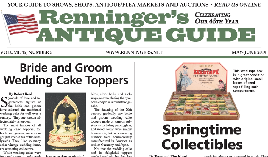 IRead the May-June 2019 Issue of Renninger's Guide