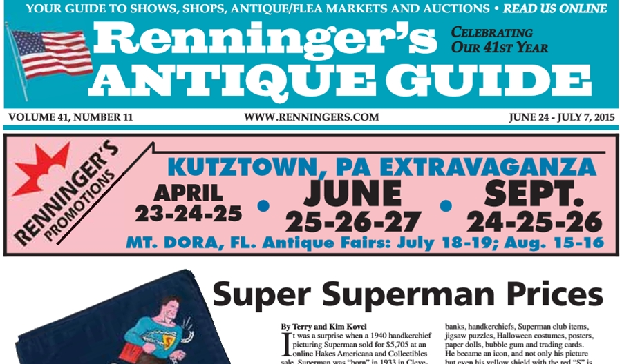 IRead the June 24th Issue of Renninger's Guide