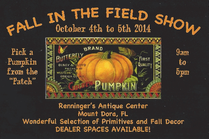 IFall in the Field Primitive Antiques Show
