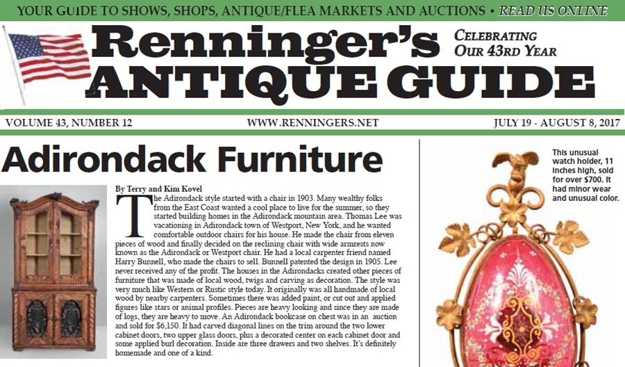 IRead the July 19th Issue of Renninger's Guide
