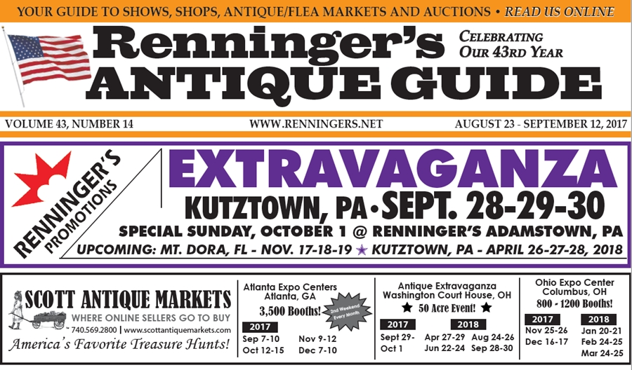 IRead the August 23rd Issue of Renninger's Guide