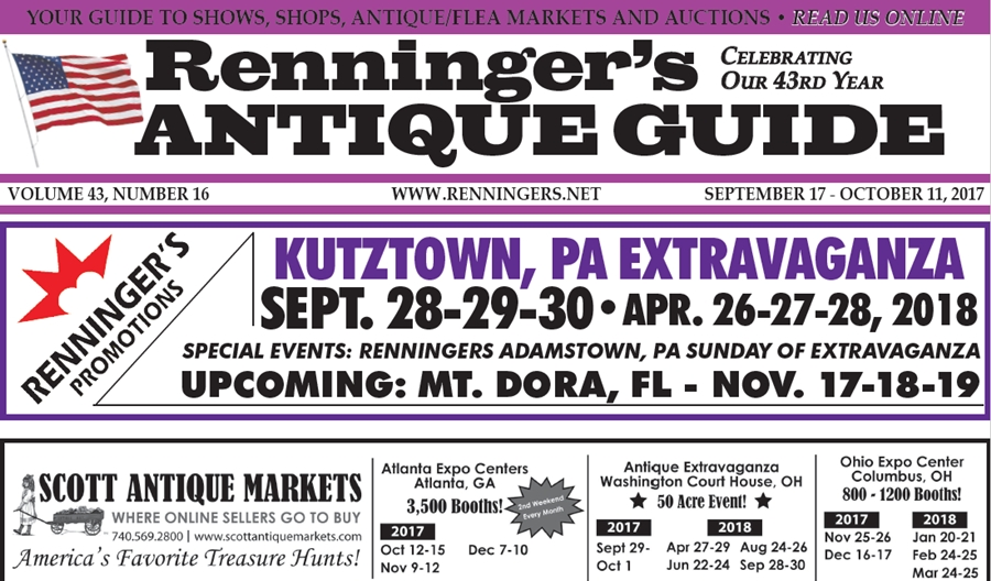 IRead the September 27th Issue of Renninger's Guide
