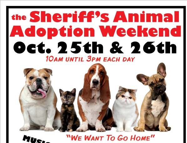 ILake County Sheriff's Animal Adoption Weekend